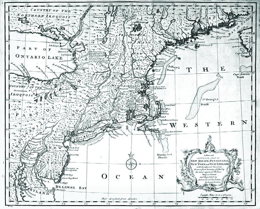 Map of Western Ocean