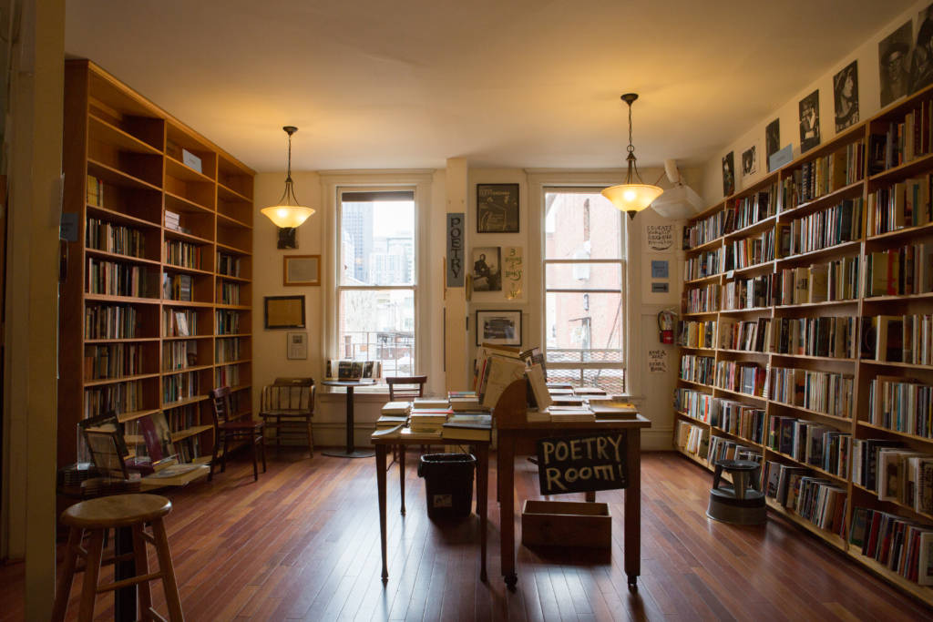 poetry room bookstore