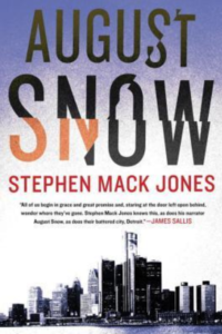 book cover august snow