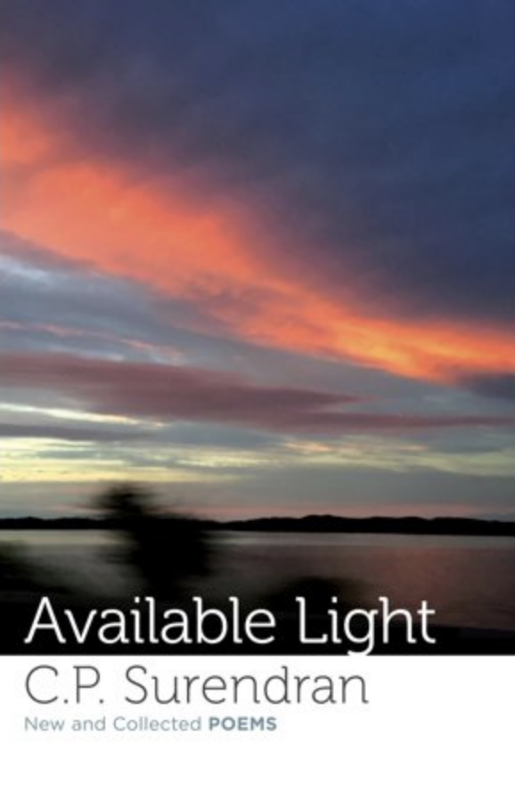 "the cover of CP Surendran's ""Available Light"""