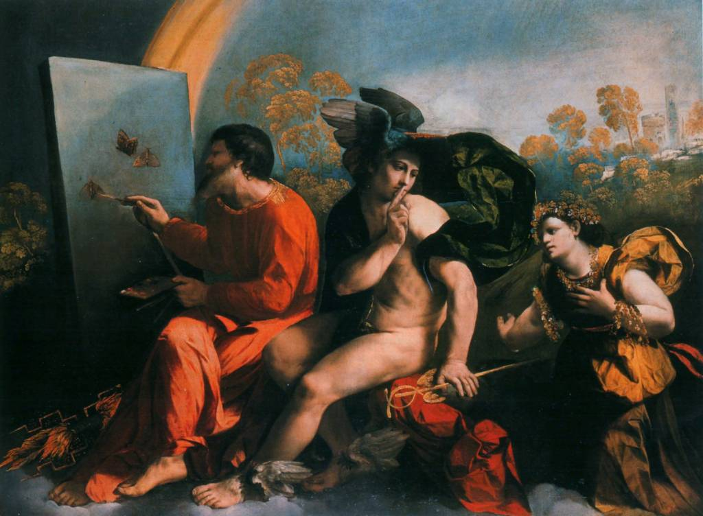 Jupiter Painting Mercury and Venus