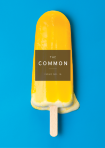 The Common Issue 16 cover with a melting yellow popsicle on a bright blue background