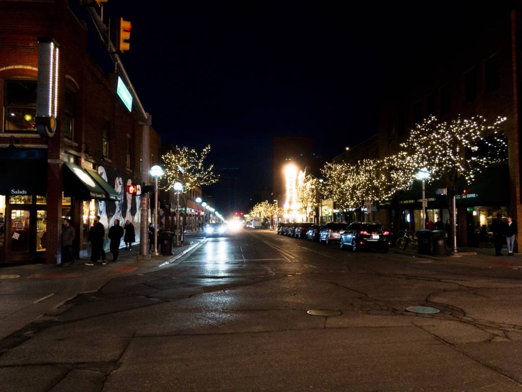 Picture of downtown Ann Arbor, MI