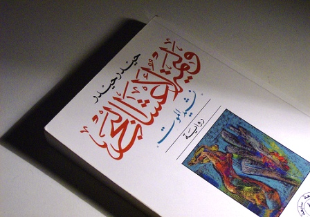A book jacket of a Haidar Haidar novel