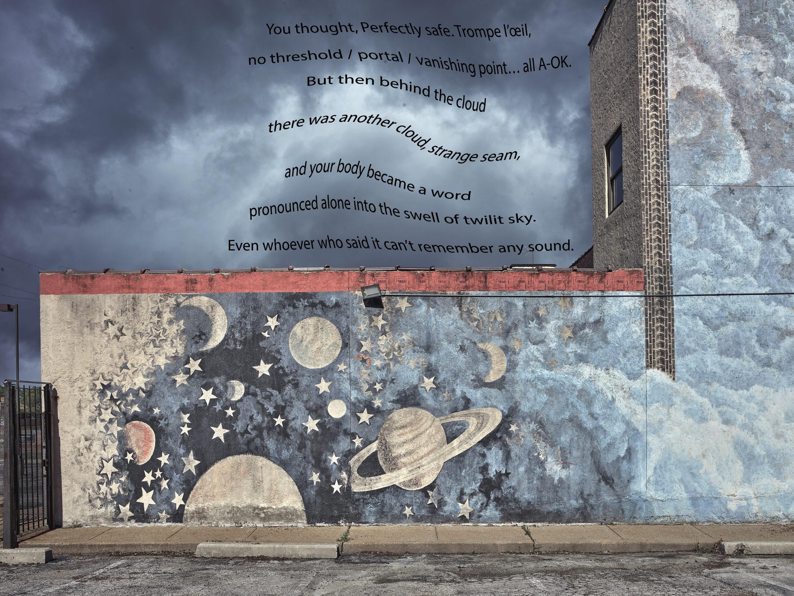 Sun, Moon, Stars with poem