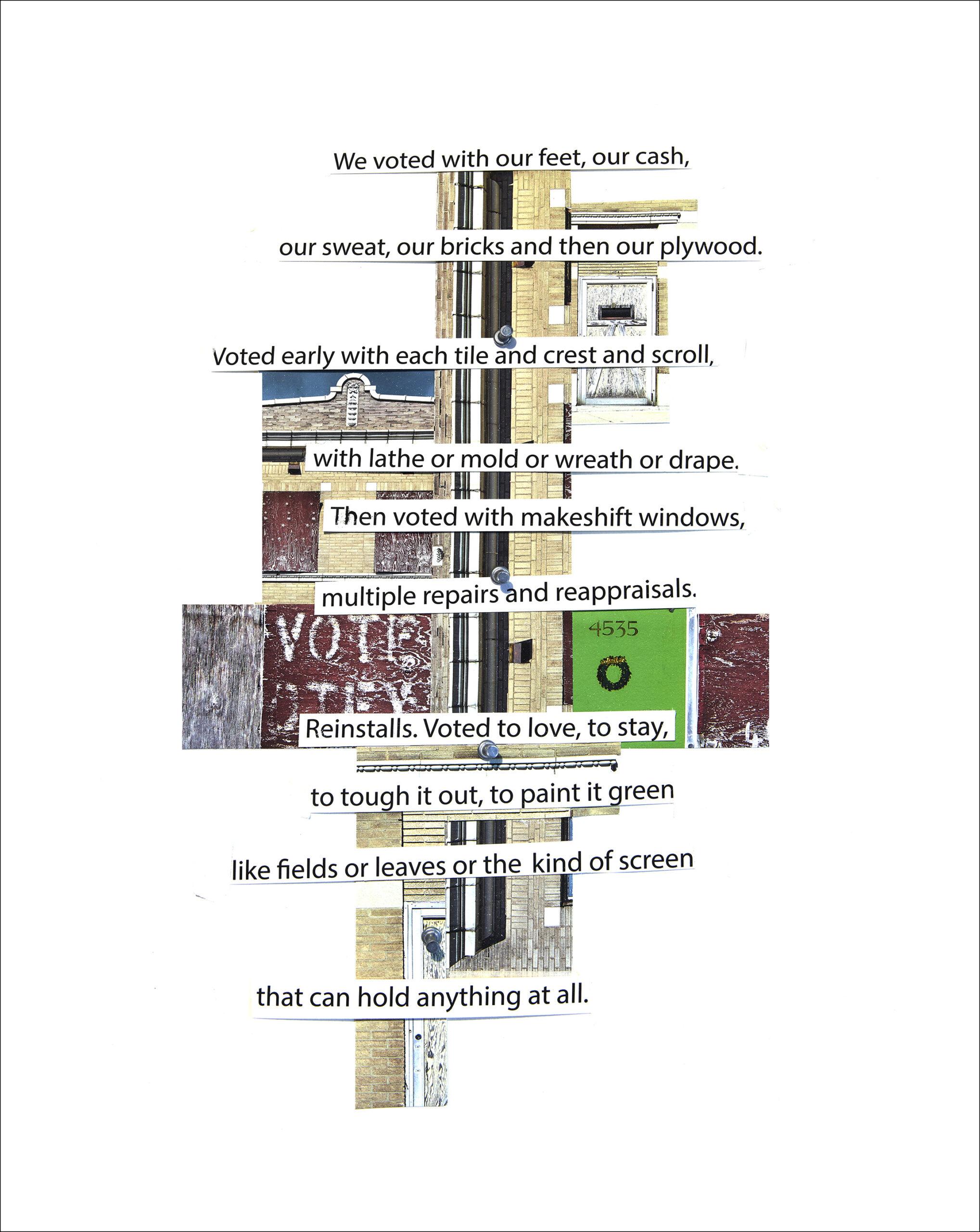 Ghost town poem