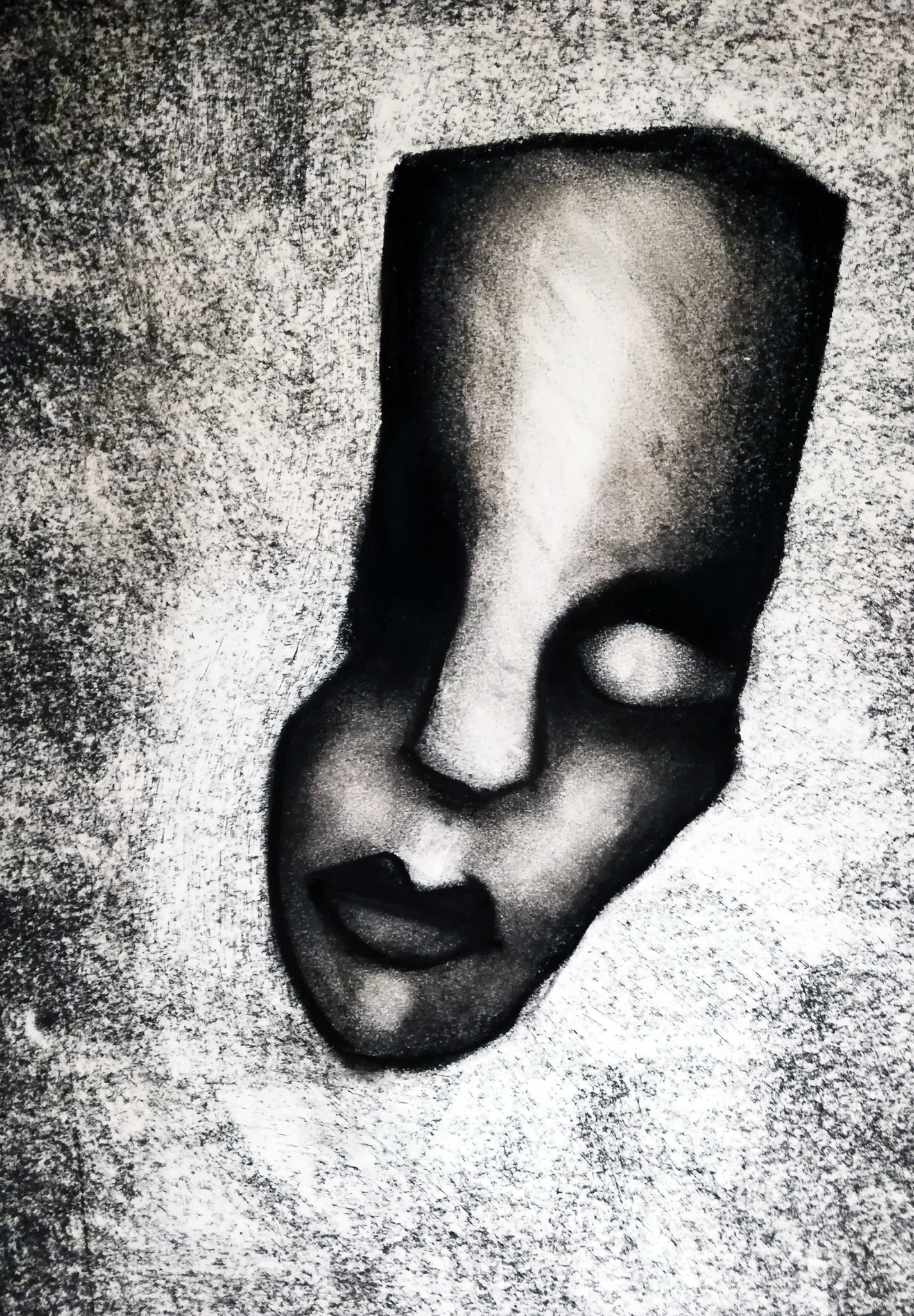Artwork of a face