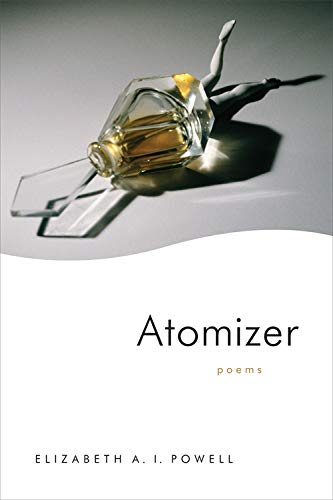 Atomizer book cover with perfume sprayer