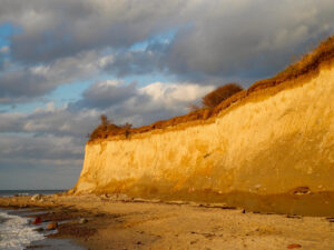 Cliff by the sea